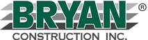 Bryan Construction Inc logo.