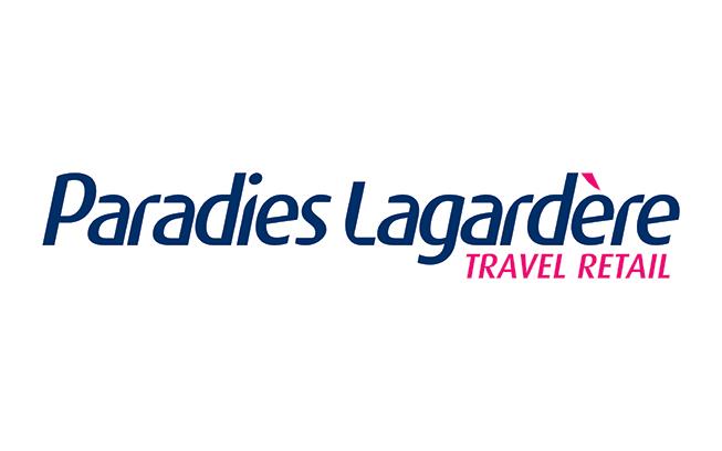 Paradies Lagardere logo. Travel Retail subtext.