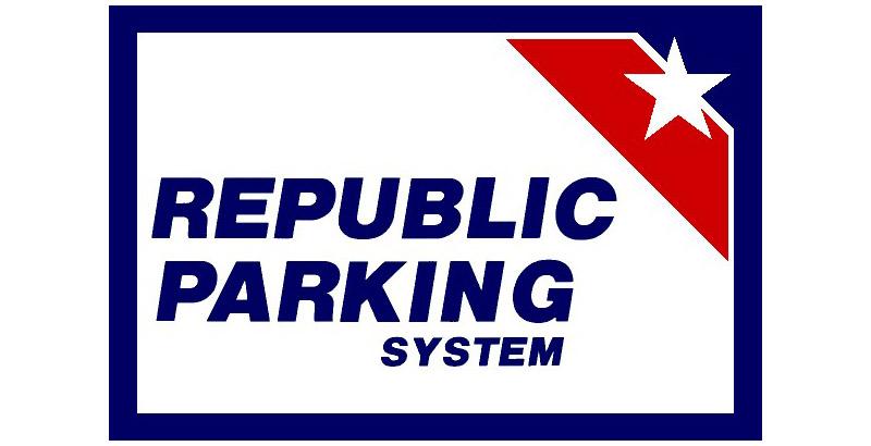 Republic Parking System logo.