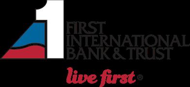 First International Bank & Trust logo.
