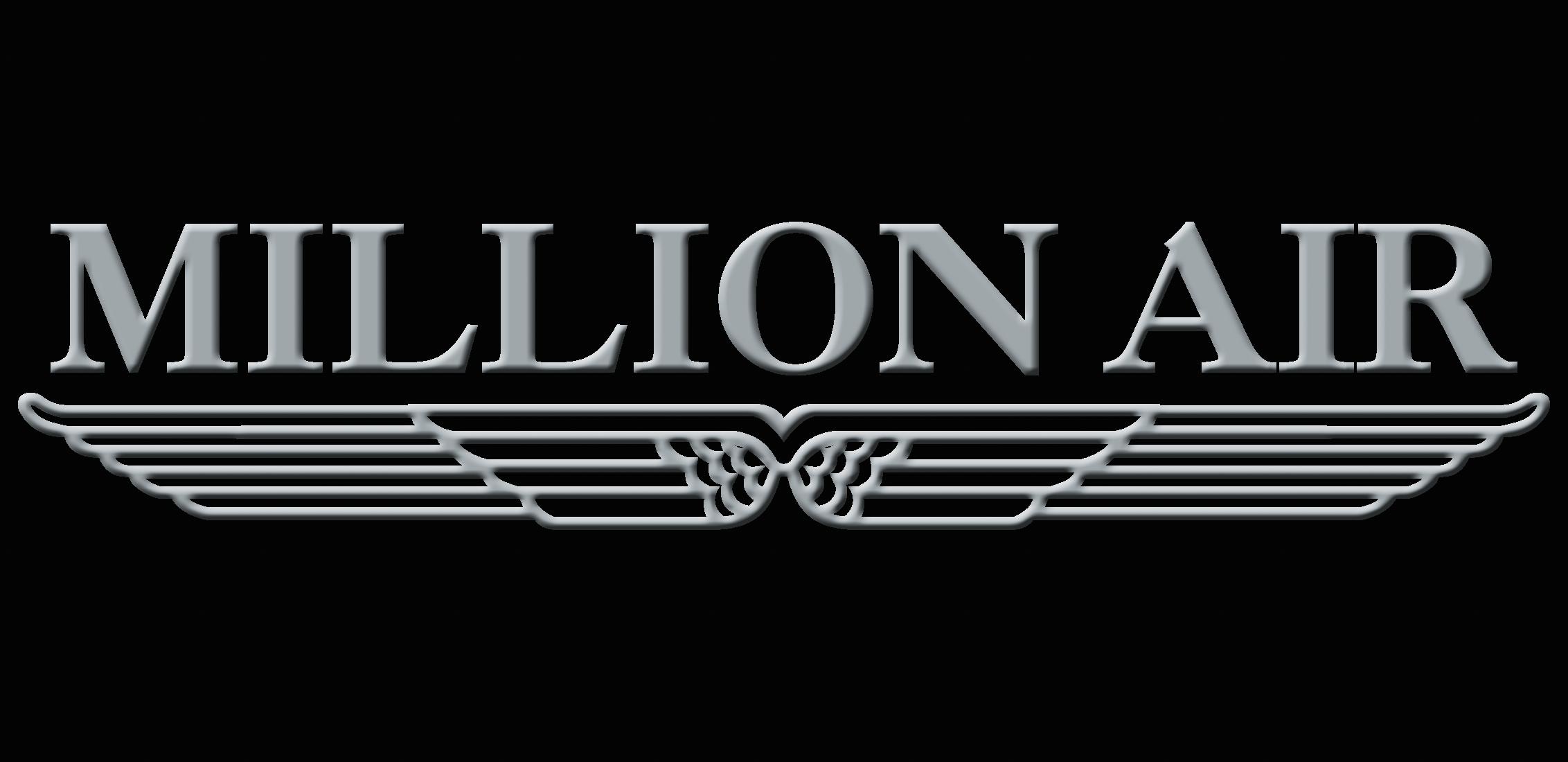 Million Air logo.