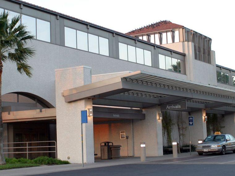The McAllen International Airport terminal building.