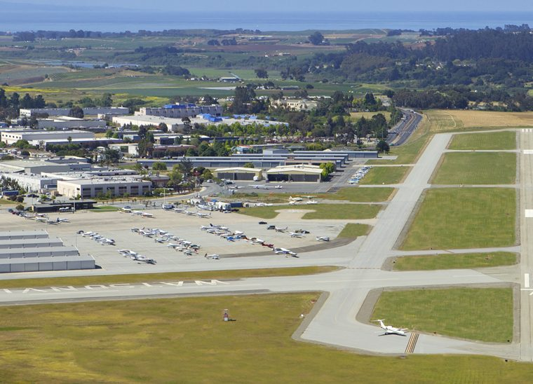 Watsonville Municipal Airport aerial photo.