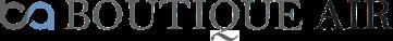 Boutique Air logo.