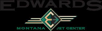 Edwards Jet Center logo.