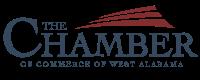 Chamber of Commerce of West Alabama logo.