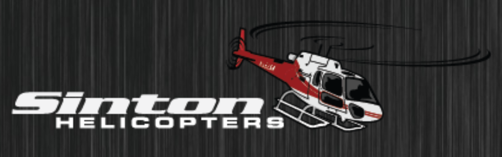 Sinton Helicopters logo.