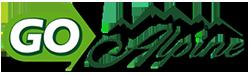 GO Alpine logo.