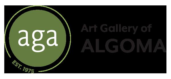 art gallery of algoma logo.