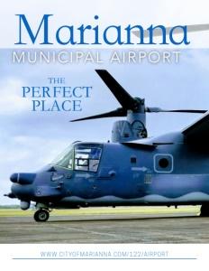 Marianna Municipal Airport brochure cover.