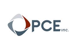 PCE Inc logo.