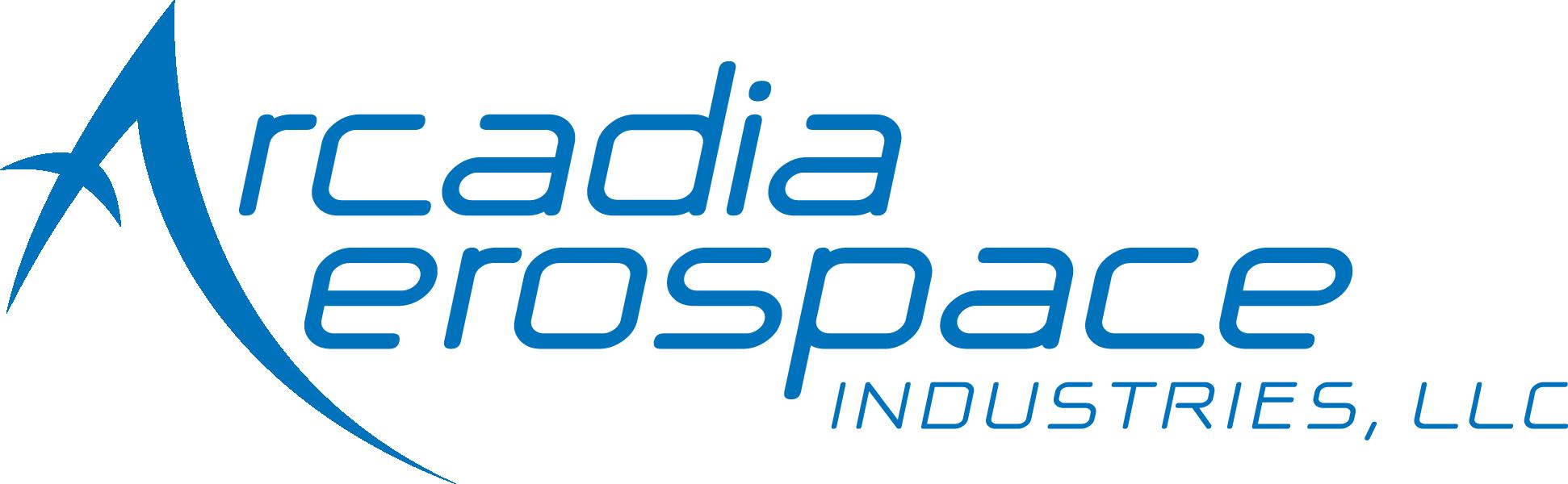 Arcadia Aerospace Industries, LLC logo.