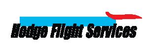 Hodge Flight Services logo.