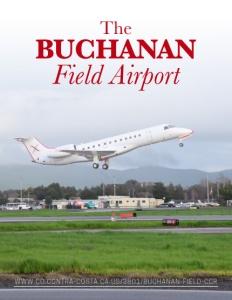 The Buchanan Field Airport brochure cover.