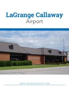 LaGrange Callaway Airport brochure cover.