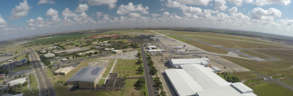 Valley International Airport South View.