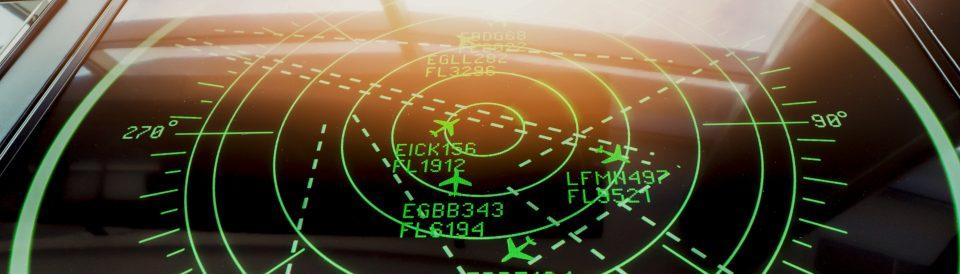 The Federal Aviation Adminsitration; Stock photo showing aircraft radar.