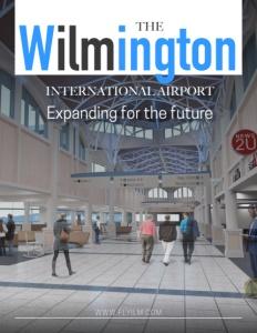 Wilmington International Airport brochure cover.