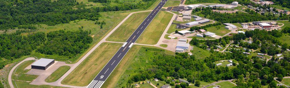 Washington County Airport aerial runway.
