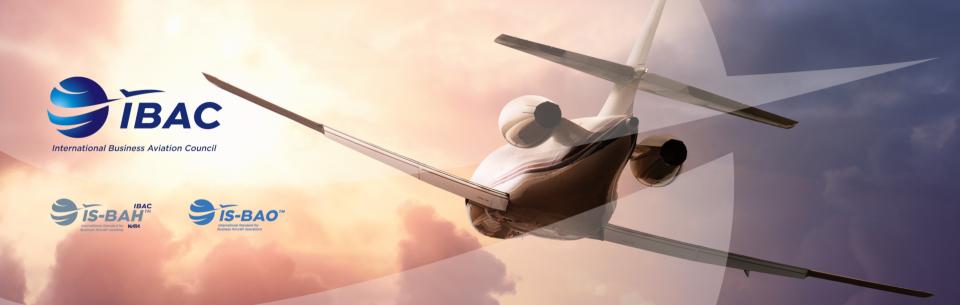 International Business Aviation Council