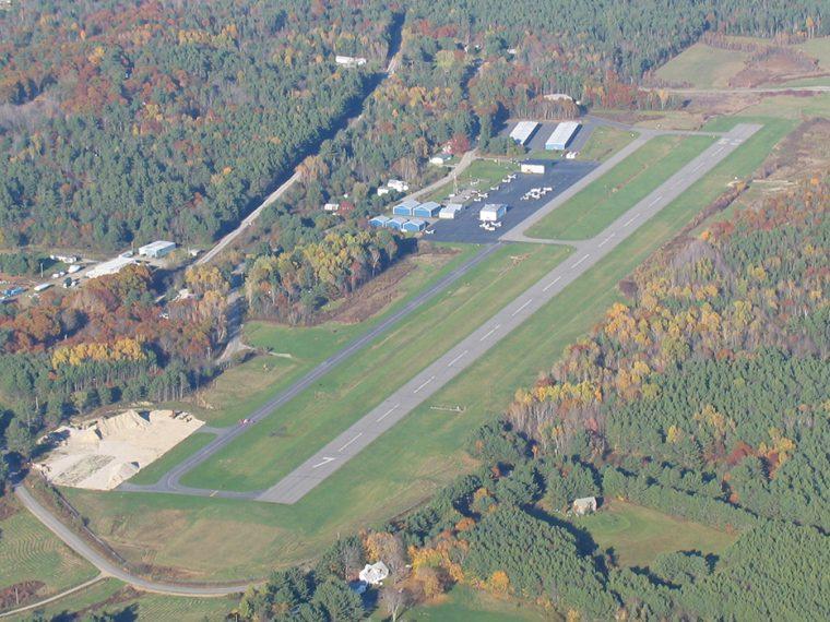 Wiscasset Aerial