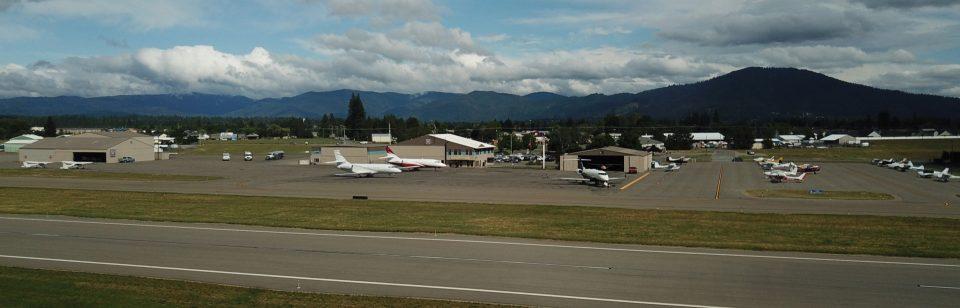 "Coeur d'Alene Airport ""Pappy Boyington Field"""