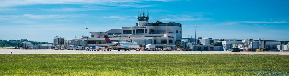 Yeager Airport Terminal Building Exterior