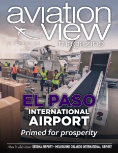 Volume 1 Issue 2 cover for Aviation View Magazine